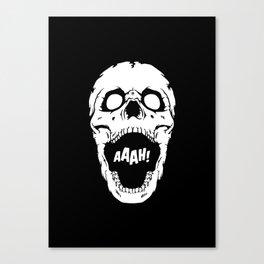 Say AAAH! Canvas Print