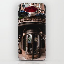 The Pickle Barrel in Chattanooga, Tennessee iPhone Skin