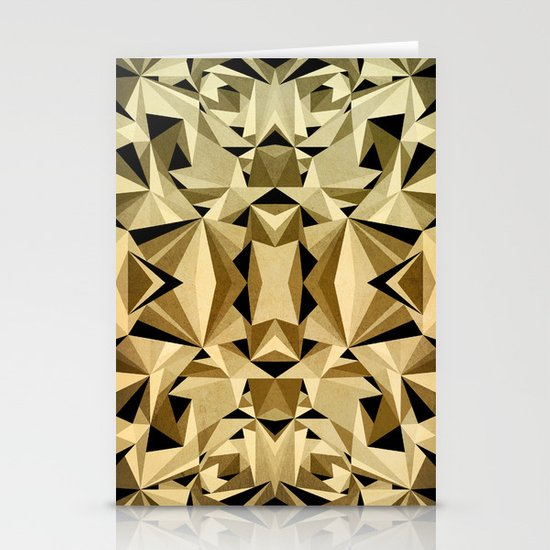 ABSTRACTION ARTDECO Stationery Cards