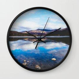 Lago, El Chalten, Patagonia, Argentina Wall Clock