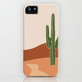 Cactus only iPhone Case