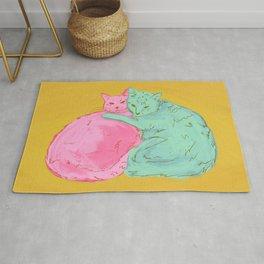 Cat Cuddles Rug