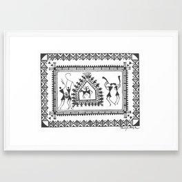 The Hunt (Tanuja Bagh) Framed Art Print