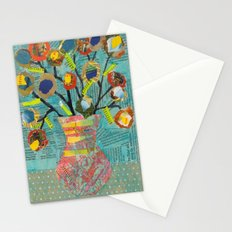 Junk Mail Flowers Stationery Cards