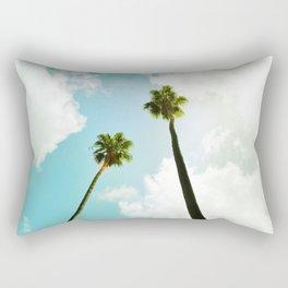 Bright Palms Rectangular Pillow