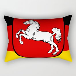 Flag of Niedersachsen (Lower Saxony) Rectangular Pillow