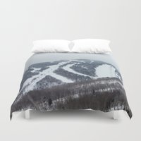 vermont Duvet Covers featuring Killington Vermont by BACK to THE ROOTS