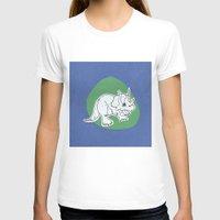 dinosaur T-shirts featuring Dinosaur by Caroline Provine
