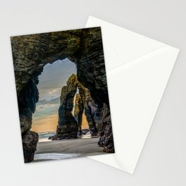 The Arches at Cathedral Beach Stationery Cards