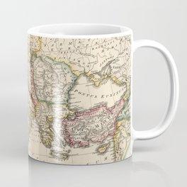 Vintage Map of The Roman Empire (1815) Coffee Mug
