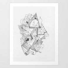 Art of Geometry 2 Art Print
