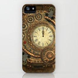 Steampunk, clockwork iPhone Case