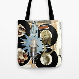COLLAGE: Hit Tote Bag