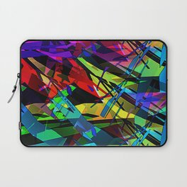 Color splinter in the abstract. Laptop Sleeve