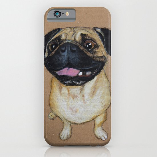 Pug Dog iPhone & iPod Case