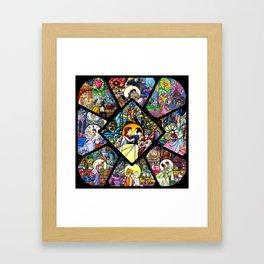 Fairy Tale Love Framed Art Print