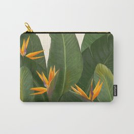tropical floral Carry-All Pouch