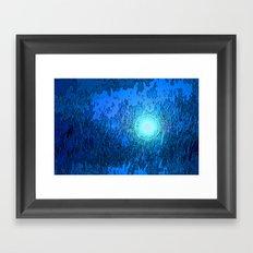 Dark Depths Framed Art Print