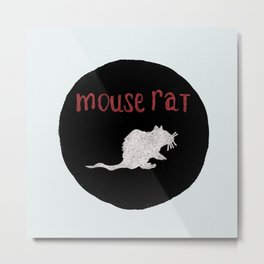 Mouse Rat Metal Print