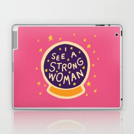 I see a strong woman Laptop & iPad Skin