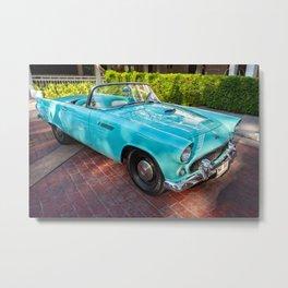 Thunderbird Classic Car Metal Print
