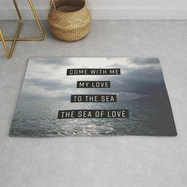 Sea of Love Rug