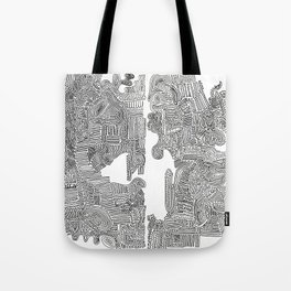Squigglies Tote Bag
