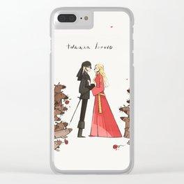 Twuuu Looove Clear iPhone Case