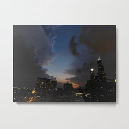 Clash of the Clouds Metal Print
