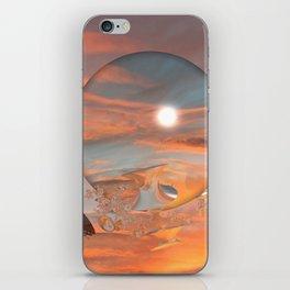 Lunar Sunset iPhone Skin