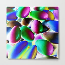 Psychedelic Candy Metal Print