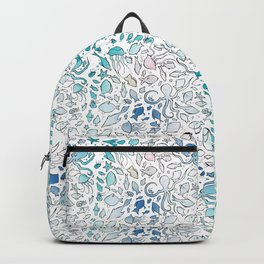 Colorful Sealife Backpack