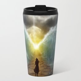 Moses splits the sea Travel Mug