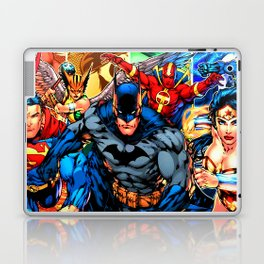 a collection of heroes Laptop & iPad Skin