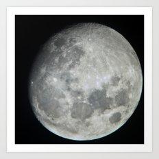 Moon 1 Art Print