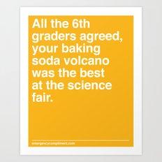 Best at the Science Fair Art Print