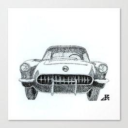 57 Vette Canvas Print