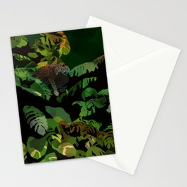 jungle cat 2 Stationery Cards