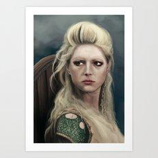 Shieldmaiden Art Print