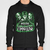 House of Monsters Phantom Frankenstein Dracula classic horror Hoody