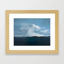 Clouds of Light Framed Art Print