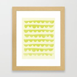 Scalloped Framed Art Print