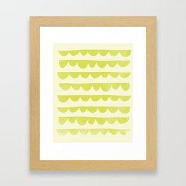 Scalloped Framed Art Print