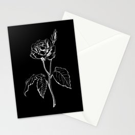 Black Rose Stationery Cards