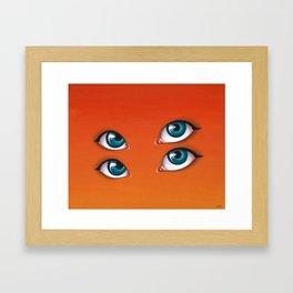 Citrus Sun Framed Art Print