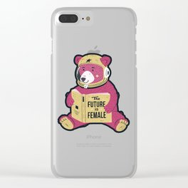 The Future is Female Clear iPhone Case