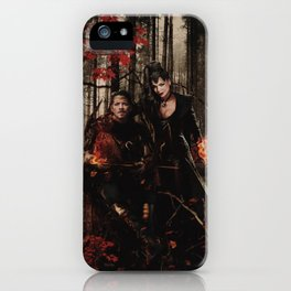 Outlaw Queen - Prince of Thieves and The Queen iPhone Case
