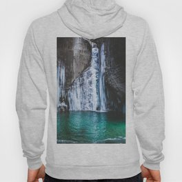 Frozen waterfall Hoody