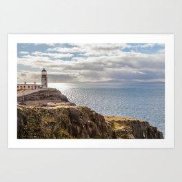 Neist Lighthouse Art Print
