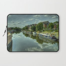 River Weaver at Northwich Laptop Sleeve